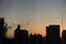 10/21(日)【山口県岩国市麻里布町】 「朝焼け」 Rx