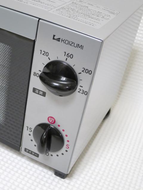 KOIZUMI KOS-1013 温度調節とタイマー