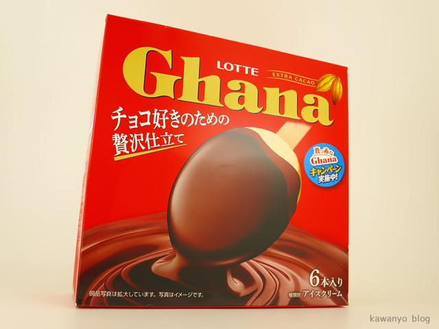 ロッテ ガーナ2層仕立て チョコアイス