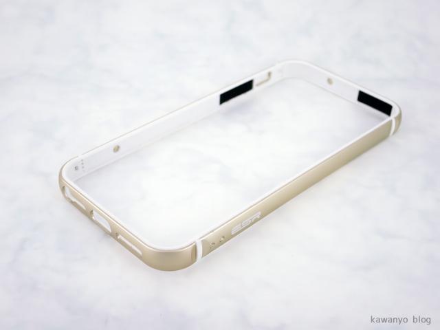 ESR iPhone se フルエンシア メタルフレーム ケース