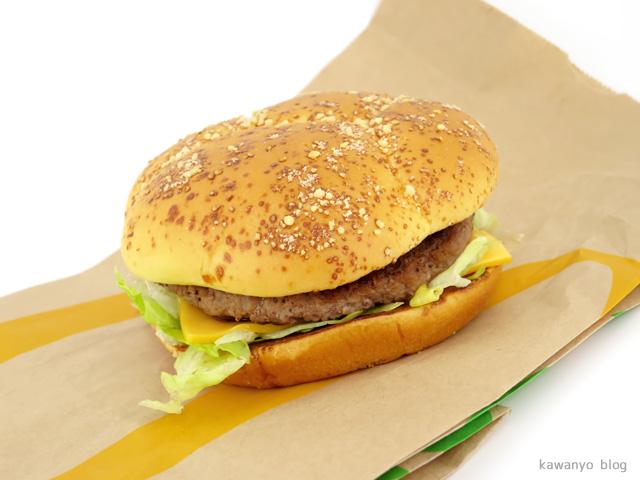 マクドナルド「アメリカンデラックス チーズ」
