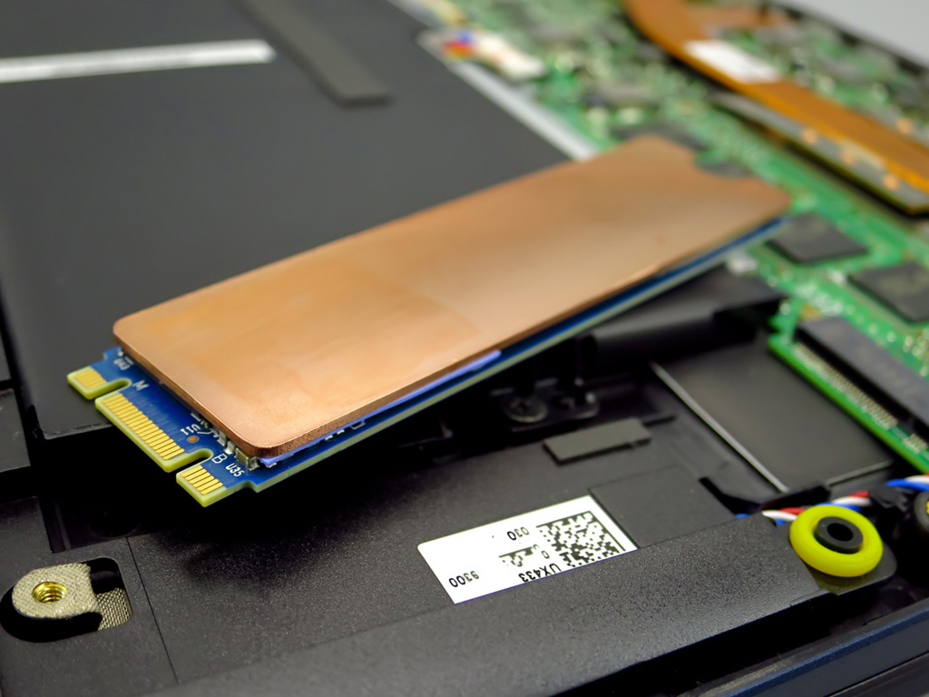 M.2 SSD用 銅ヒートシンク