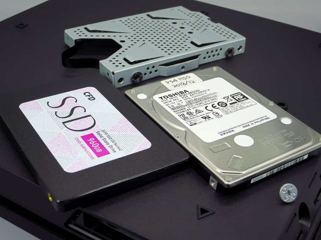 PS4 SSD 換装