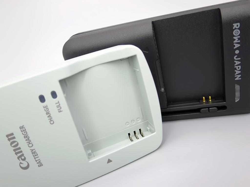 ロワジャパン マルチ充電器(SC668-RW)と互換充電池