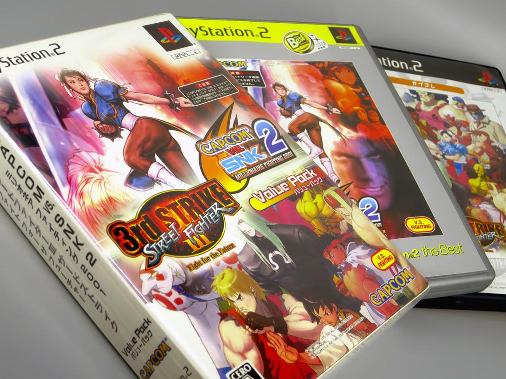 CAPCOM VS SNK 2 ミリオネア ファイティング 2001 ストリートファイターIII 3rd STRIKE Fight for the future バリューパック