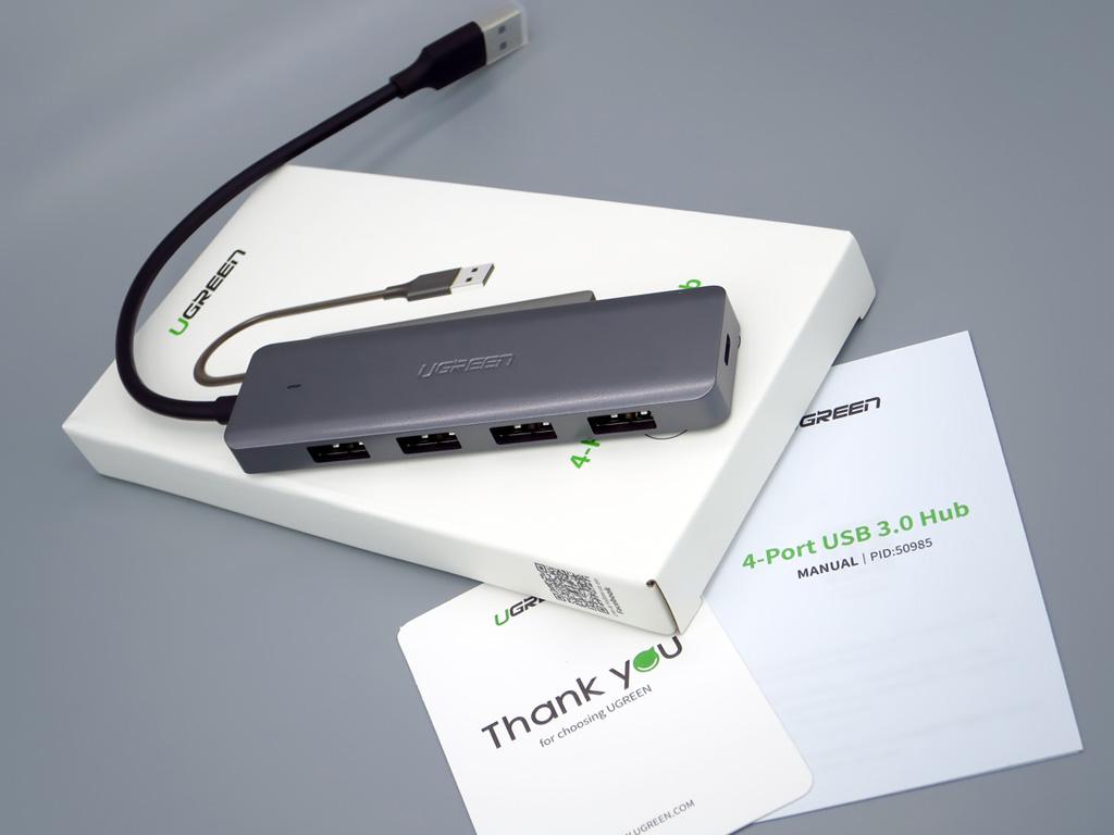 UGREEN USB3ハブ 4ポート