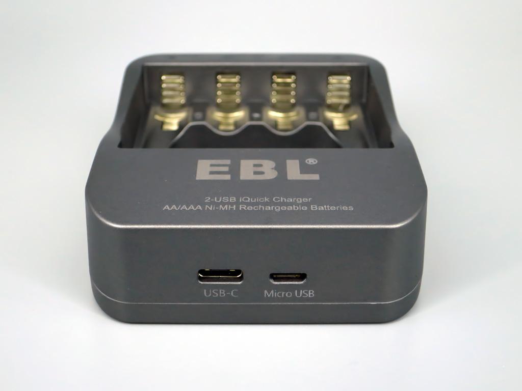 EBL 単3単4充電池用 USB急速充電器