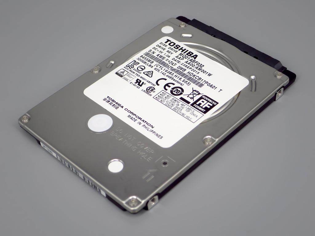 TOSHIBA 320GB MQ01ABF032