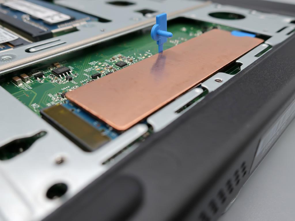ノートパソコン対応 NVMe/M.2接続 SSDヒートシンク