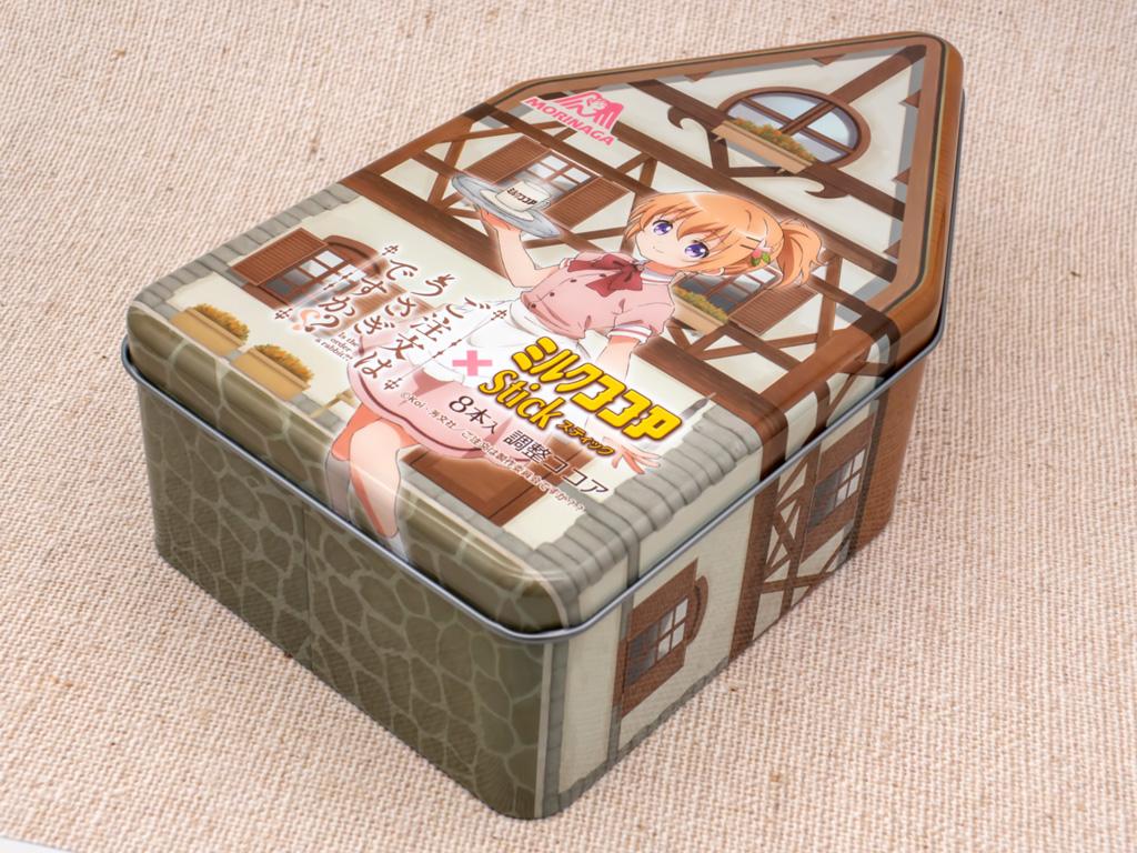 森永 ごちうさ×ミルクココア スティック缶
