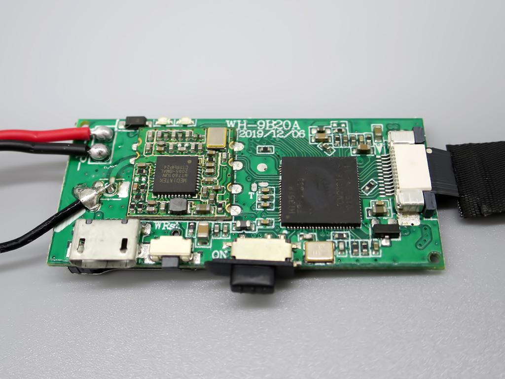 超小型 スパイカメラ WiFi接続対応 ESROVER 分解画像