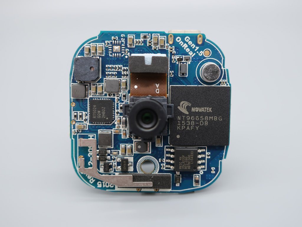 OnReal G1 アクションカメラ 分解画像
