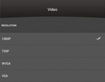 OnReal G1 アクションカメラ アプリ設定