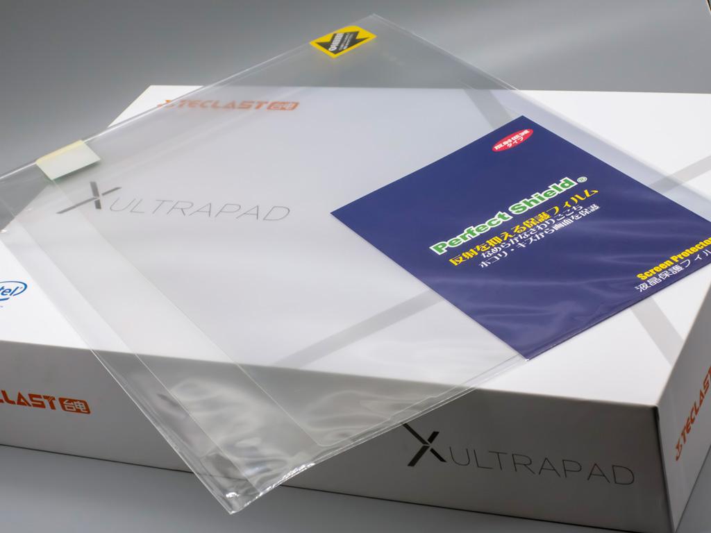 PDA工房 「Teclast X4」 反射低減&指紋防止 液晶保護フィルム