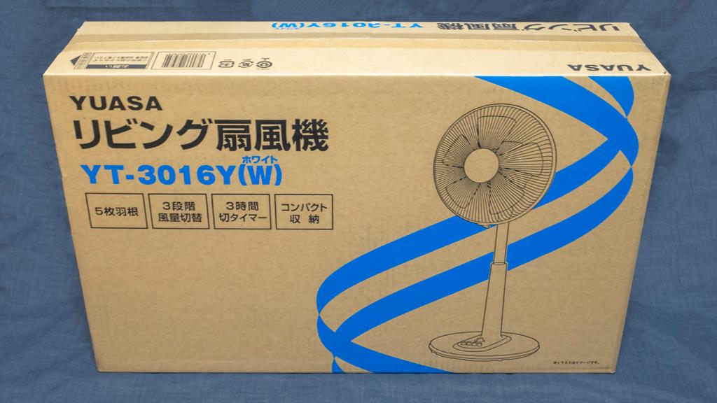ユアサ リビング扇風機 YT-3016Y