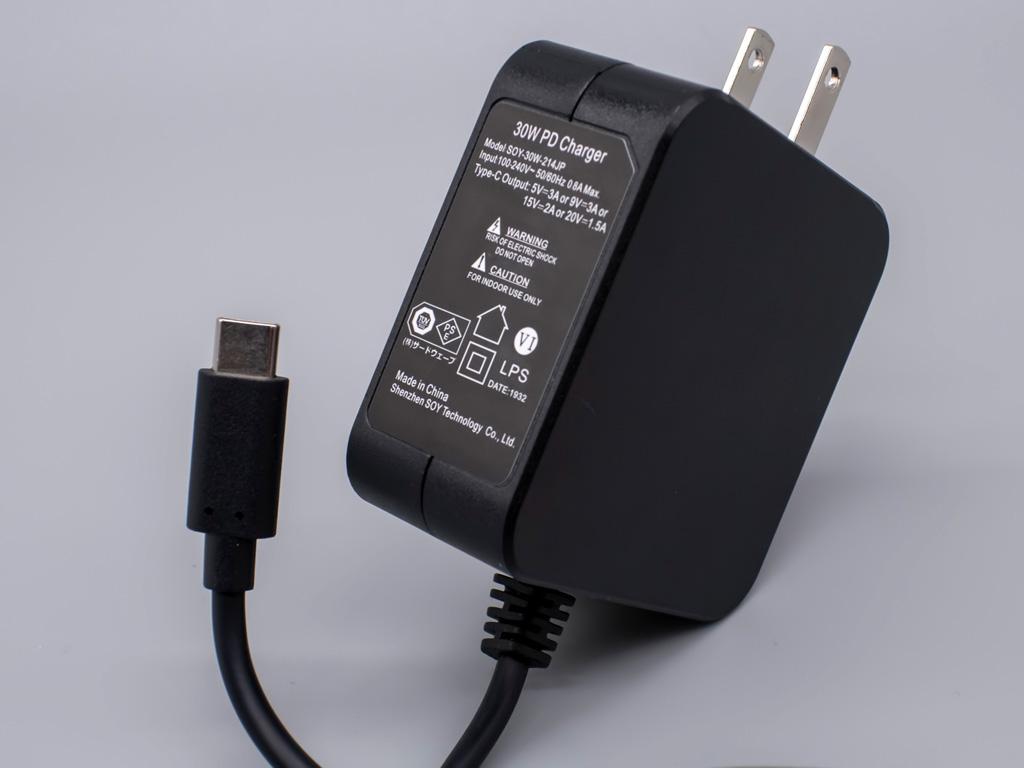 クリエイター向けWindowsタブレット「raytrektab」DG-D10IWP ACアダプター