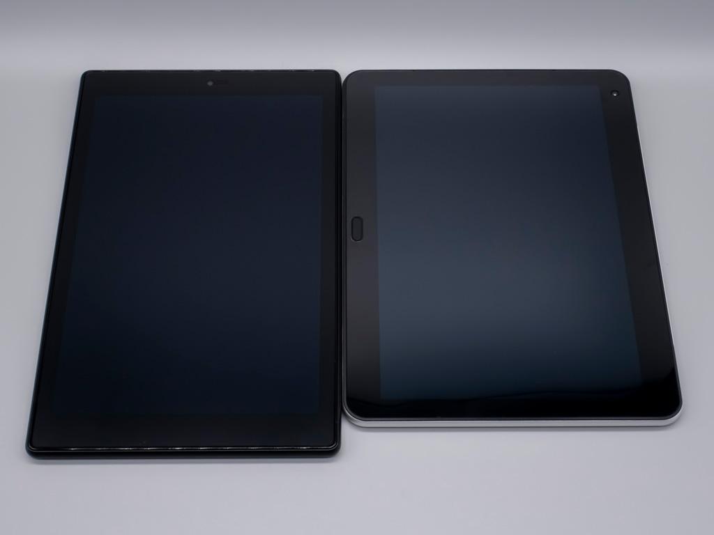 クリエイター向けWindowsタブレット「raytrektab」DG-D10IWP サイズ感