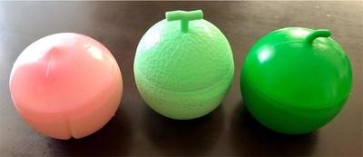 モモボールとメロンボールとスイカボール