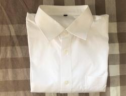 ブロード形態安定シャツ