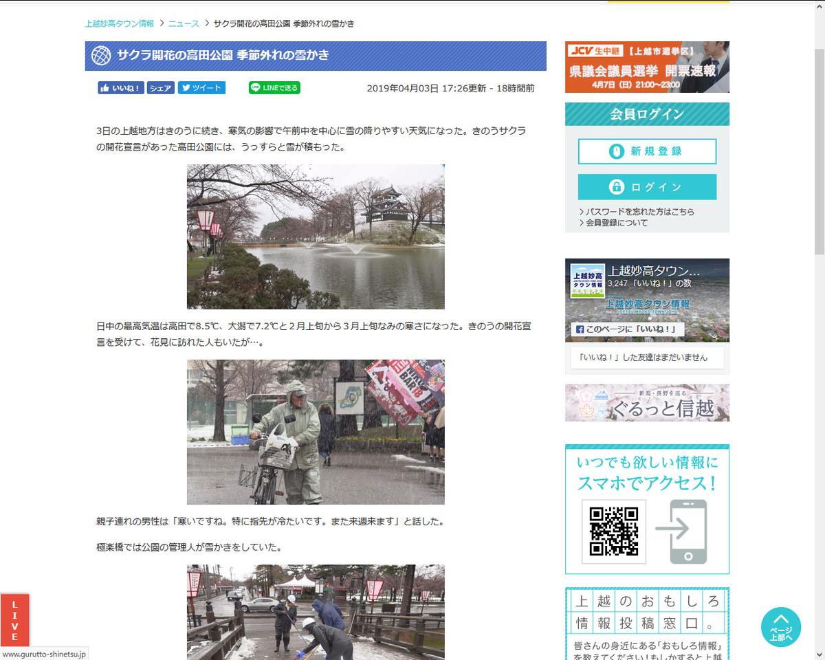 高田公園2019.4.3
