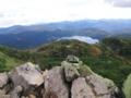 柴安嵓山頂付近から 尾瀬沼方面