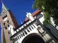②ドイツ。アウクスブルクの大聖堂