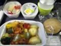 キャセイパシフィックのビーガン機内食