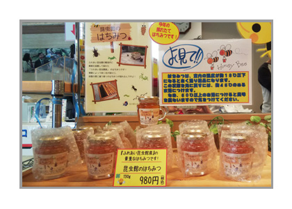 ハチミツ販売