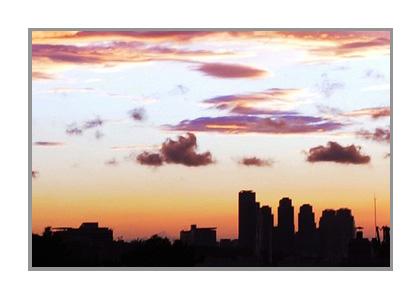 夕方の画像