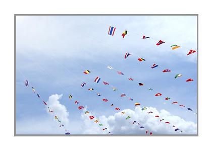 運動会の日の空の画像