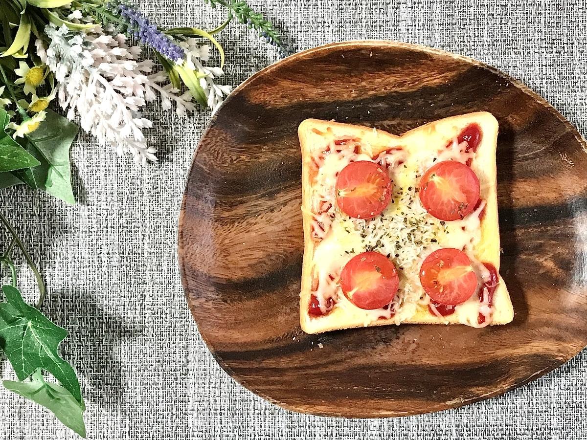 しらすとトマトのピザ風トースト