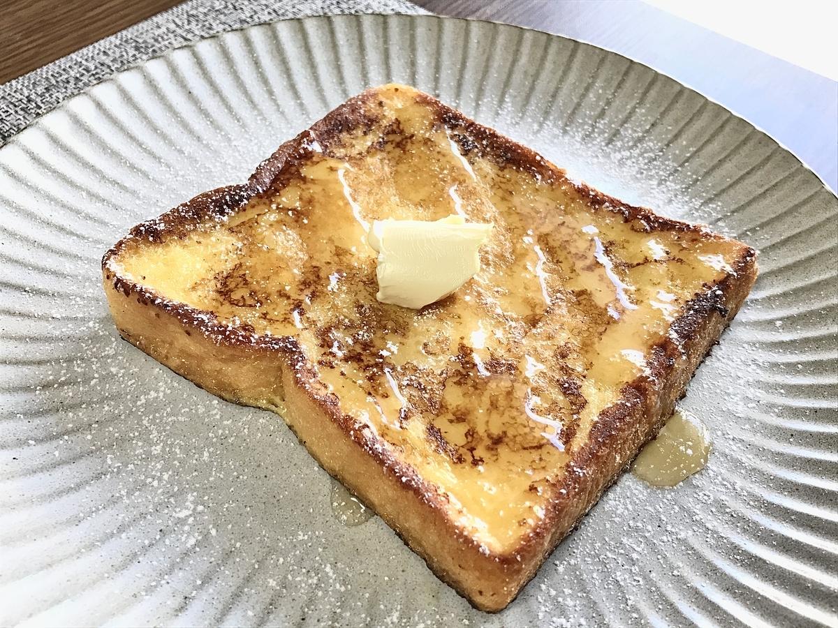 豆乳フレンチトースト完成