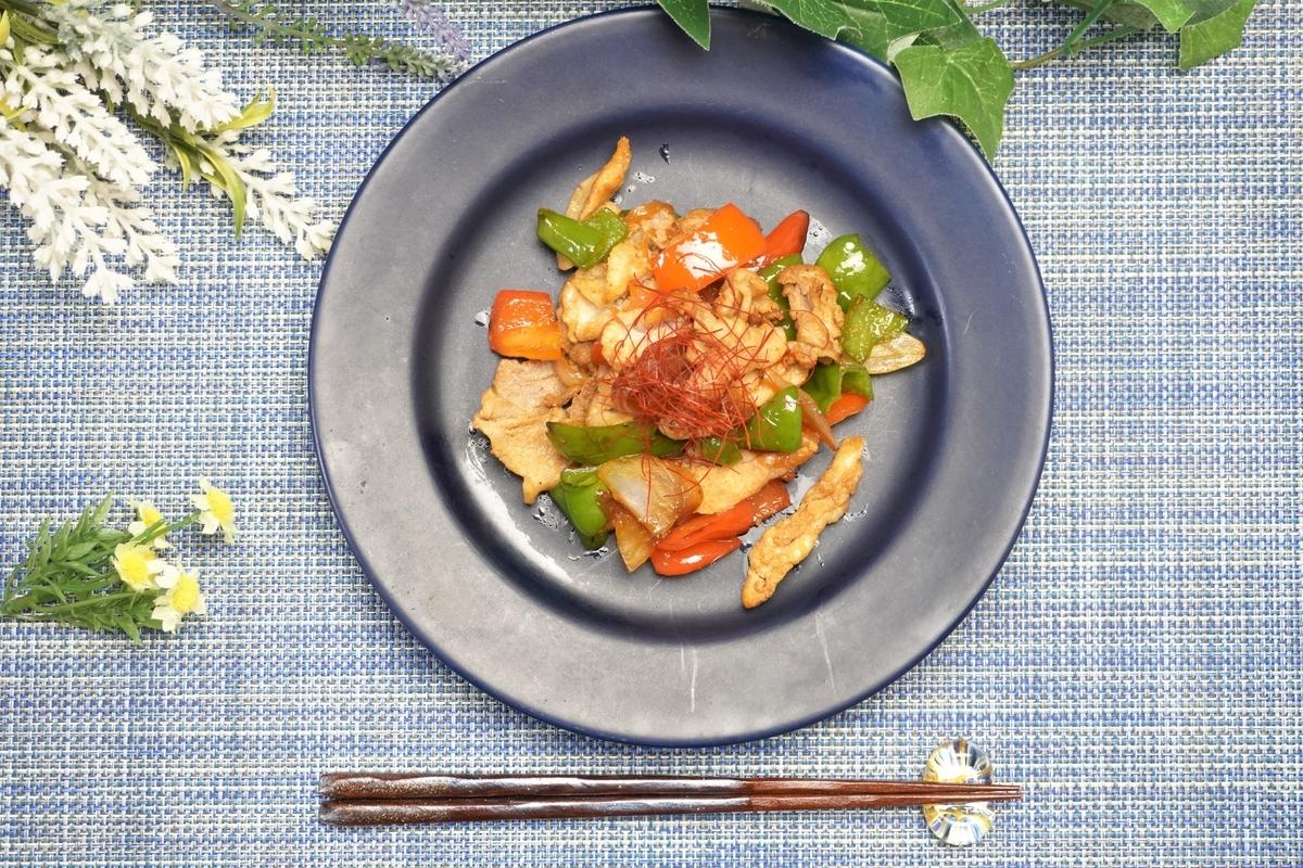 豚肉とパプリカのオイバタ炒めの作り方・レシピ