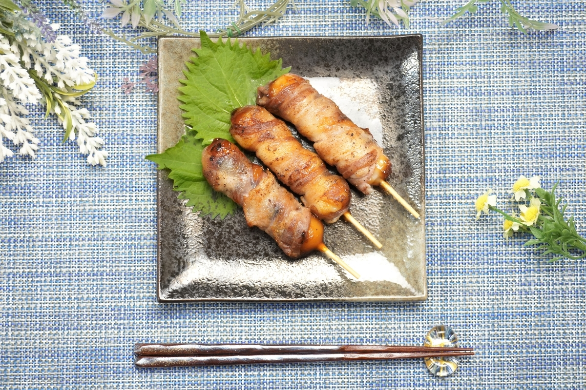 みたらし団子の豚肉巻きの作り方・レシピ