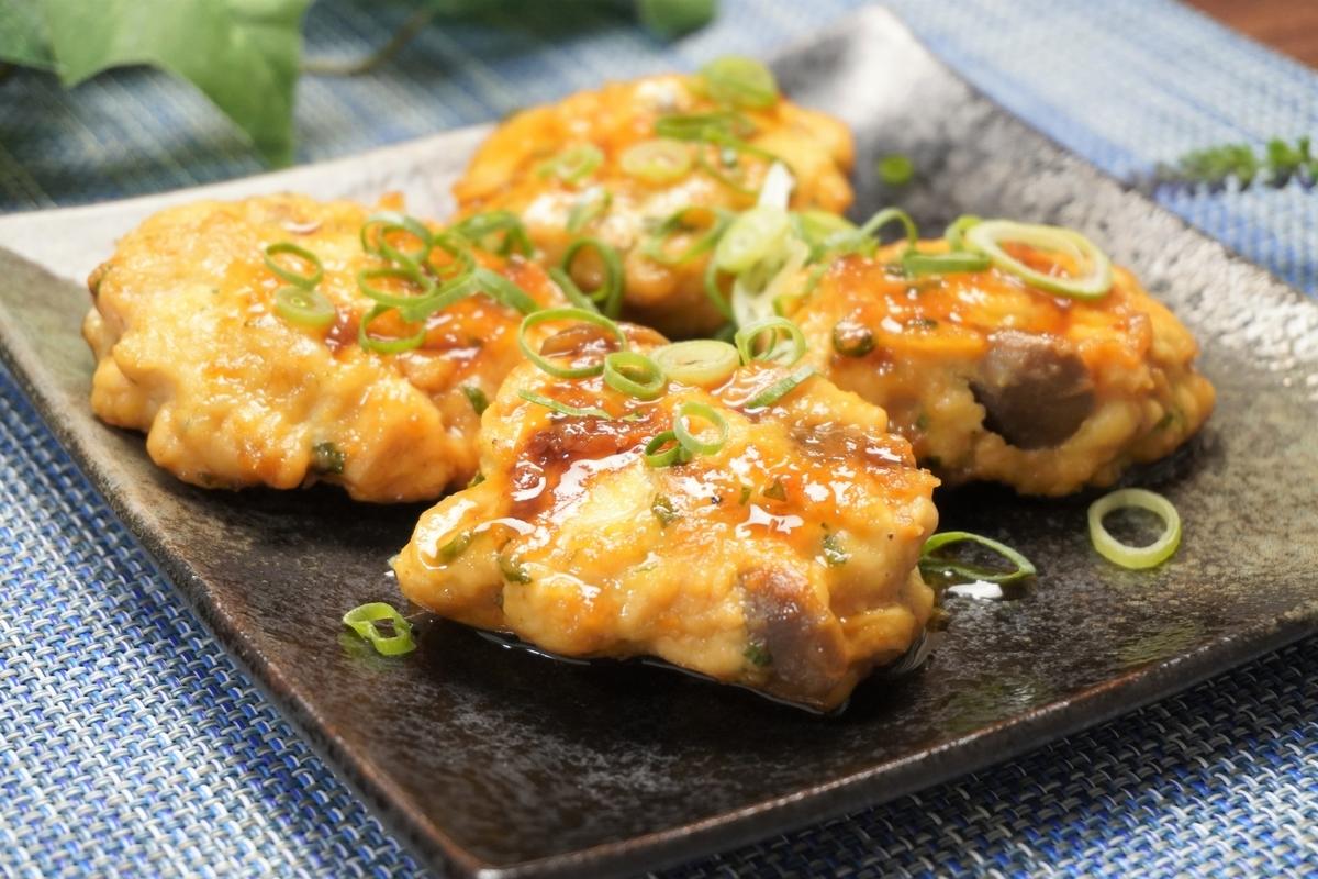 鶏むね肉のしめじ入り大葉つくねの作り方・レシピ