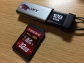 32GBのSDHC