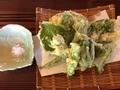 古代村の天ぷら