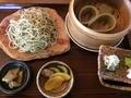 古代村の蕎麦セット『さくら』
