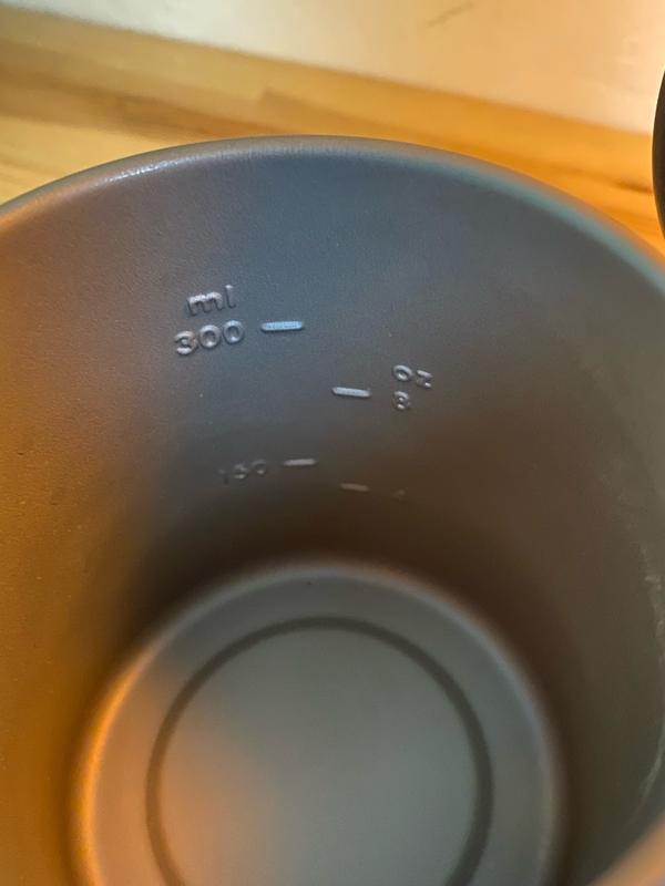 WAQチタンマグカップ 目盛