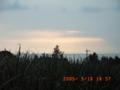 波照間島・モンパの木からの夕焼け(2005.5.16)