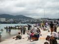 若夏石垣島・新栄漁港の石垣ハーリー
