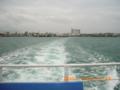 宮古島・平良港から伊良部島・佐良浜へ