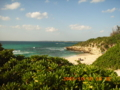 宮古島・砂山ビーチを望む
