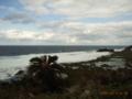 久米島・具志川城跡から大和泊海岸を観る