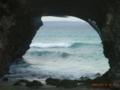 砂山ビーチにて