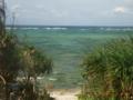 多良間島・多良間色のサンゴ礁「トゥガリラ公園」近く