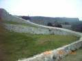 旧正月の勝連城跡
