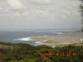 久米島・真謝からハテの浜方面を望む