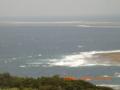 久米島からハテの浜を望む