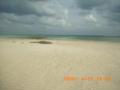 奥武島の浜と風紋